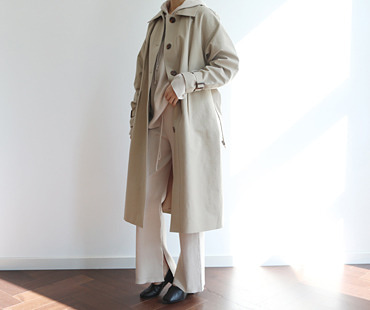 B trench CT  (BEST!-Beige)